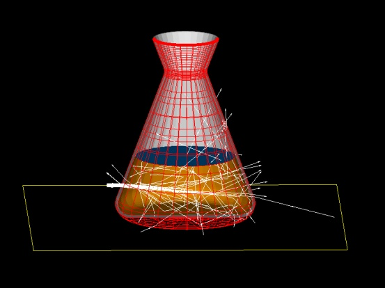 image of light scattering example