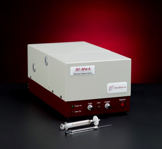 The BI-Molecular Weight Analyzer, a Multi-Angle Static Light Scattering System